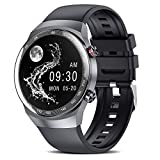 suinsist Smart Watch 2021 with Call, Fitness Tracker with Sleep Monitor, Activity Tracker with 1.54 Inch Touch HD Screen, IP67 Waterproof Pedometer Smartwatch with Step Monitor, for Android iOS Phones