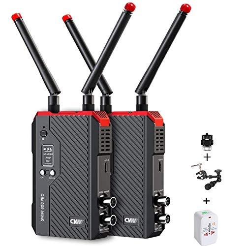 CVW Swift 800Pro - Sistema de transmisión de vídeo inalámbrico HDMI SDI HD Image Wireless 800 Pro transmisor receptor CVW 800 Pro para iPad Smartphone Monitor Cámara DSLR