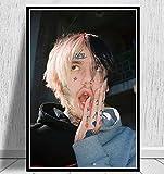 DAQIANSHIJIE Lil Peep RIP Poster wandkunst Bild Rapper hip