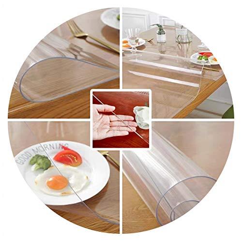 Harte Fußmatten Stuhlmatte Filet Fußmatten for Büro Bürostuhl Unterlage Bodenschutz Unterlegmatte,3 Dicken, Unterstützung Der Anpassung ALGFree (Color : 2mm, Size : 90x180cm)
