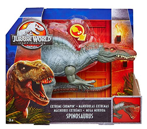 Mattel Jurassic World Legacy Collection - Beißender Spinosaurus Von [Importación Alemana]