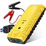 Vekkia Car Battery Jump Starter Portable, 1500A Peak 15000mAh 12V Auto Jump Boxes for Vehicles(up to 8.0L Gas/6.5L Diesel Engine) with USB Quick Charge 3.0, Emergency Battery Charger for Cars