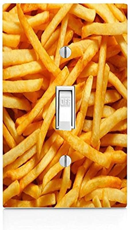 Debbie S Designs French Fries Light Switch Plate