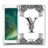Head Case Designs Officiel Nature Magick Lettre Y Monogramme Floral B&W 2 Coque Dure pour l'arrière...