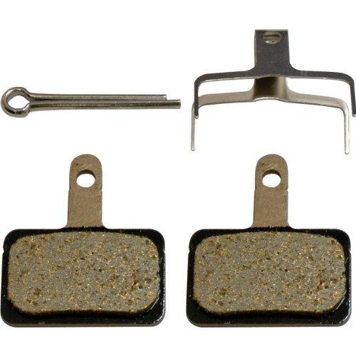 Shimano BR-T615 almohadilla de resina y resorte con clavija partida, B01S