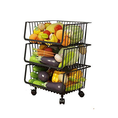 El Mejor Listado de Estantes para fruta los más recomendados. 11