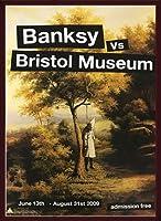 ポスター バンクシー basnksy bristol Hanging Klansman 2009 額装品 ウッドベーシックフレーム(ブラウン)