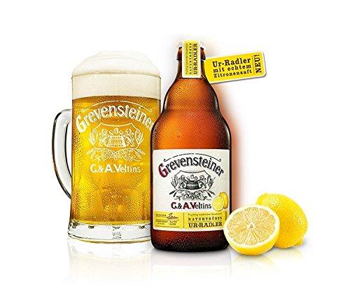 16 Flaschen Grevensteiner Ur Radler C & A. Veltins a 0,5l Bier 2,5% vol. Zitrone inc. 1.28€ MEHRWEG Pfand