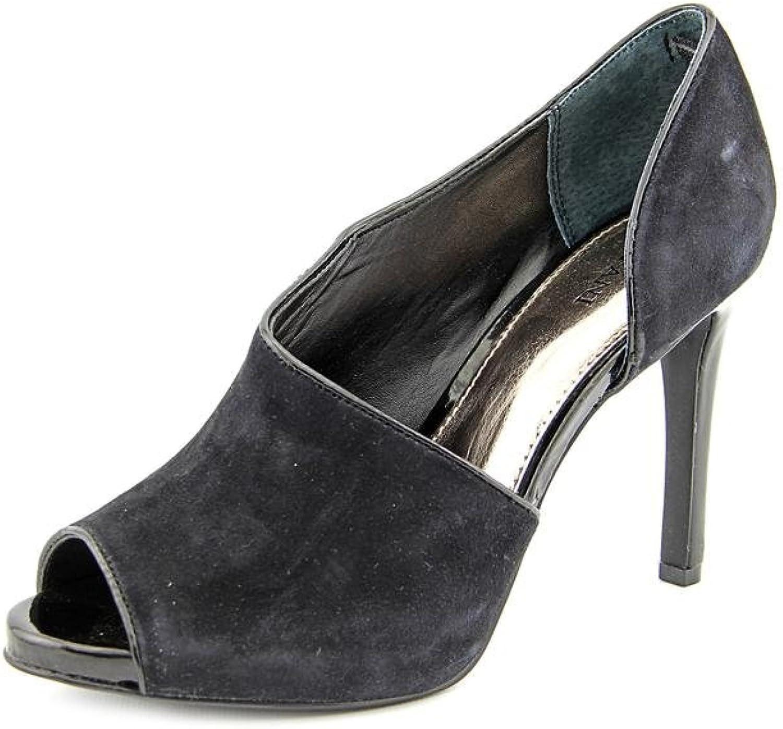 Alfani Womens Nessii Leather Closed Toe Knee High Fashion Boots