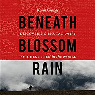 Beneath Blossom Rain audiobook cover art