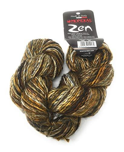 Mondial Zen Color 789 - Lana de merino con efecto brillante para...