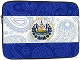 Bernice Winifred Funda para portátil con bandera de Líbano y Alemania compatible con funda para ordenador portátil divertida de 10-17 pulgadas - Bandera de Líbano y Guatemala, 13 pulgadas