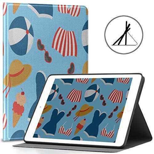 iPad 9.7 Estuche para Hombres Hermoso Traje de baño siamés Sexy Beach...
