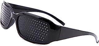 ピンホールメガネ 視力回復 遠近兼用 視力改善 視力トレーニング 眼筋運動に 視力矯正 疲れ目 遠近兼用