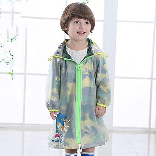 Zhihui poncho ZZHF Yuyi Impermeabile Moda Poncho Moda con Borsa Mantello Impermeabile 2 Colori Dimensioni opzionali Opzionale