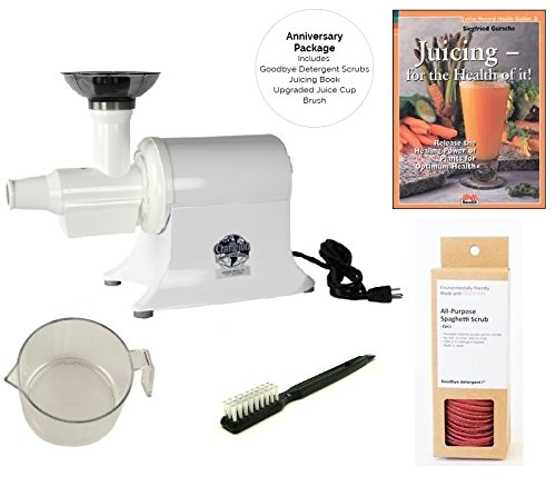 Champion Commercial Juicer G5-PG710 - Anniversary Package (White)
