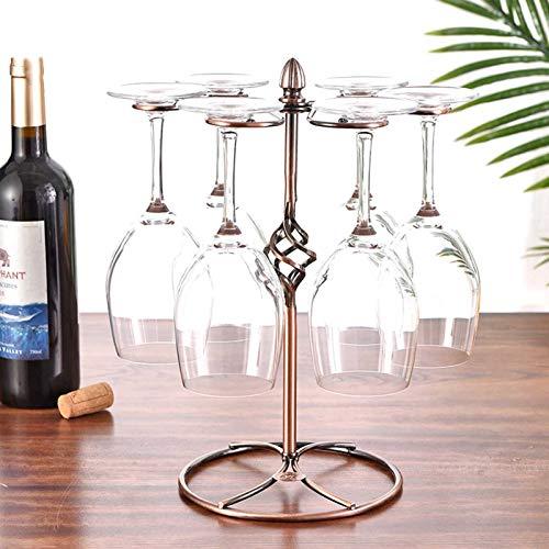 GerFogoo Porta Bicchiere Da Vino Da Appoggio Portaoggetti Per Calici Espositore Per Bicchieri Da Vino Rack Di Stoccaggio Da Tavolo Per Calici Portabicchieri In Vetro Di Vino