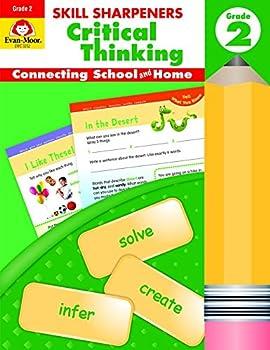 Paperback Skill Sharpeners : Critical Thinking, Grade 2 Book