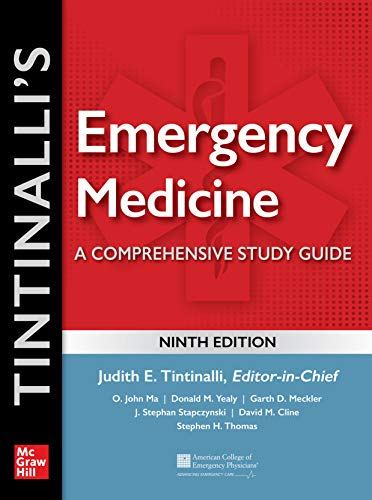 Tintinalli's Emergency Medicine: A Comprehensive Study Guide, 9th edition