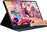 Portable Monitor Touchscreen - UCMDA 15.6 Inch Full HD 1080 IPS Screen Gaming