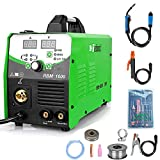 Reboot [Amazon Exclusive Brand] Welder Machine Gas/Gasless 4 in 1 RBM-1600 Multiprocess MIG 160 AMP Inverter Stick/TIG Welder 220V Supports 2LB/10LB Flux Core/Solid Wire