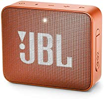 JBL GO 2 Portable Bluetooth Waterproof Speaker (Orange), 4.3 x 4.5 x 1.5 (JBLGO2COR)