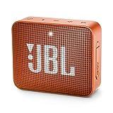 JBL - Altavoz portátil Bluetooth Impermeable Modelo GO 2, Anaranjado (JBLGO2COR)