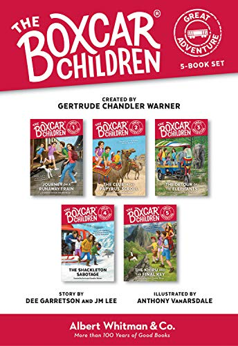 The Boxcar Children Great Adventure 5-Book Set