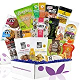 High Protein Mother's Day Fitness Healthy Snack Box: Premium Mix of Healthy Gourmet Protein Snacks On The Go Meal Replacements, Perfect Fitness Care Package Gifts for Military, Athletes Or College Students