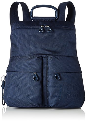 Mandarina Duck Md20 Tracolla, Zaino Donna, Blu (Dress Blue), 10x34x30 centimeters (B x H x T)