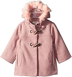 Jessica Simpson Baby Girls Faux Wool Toggle Coat
