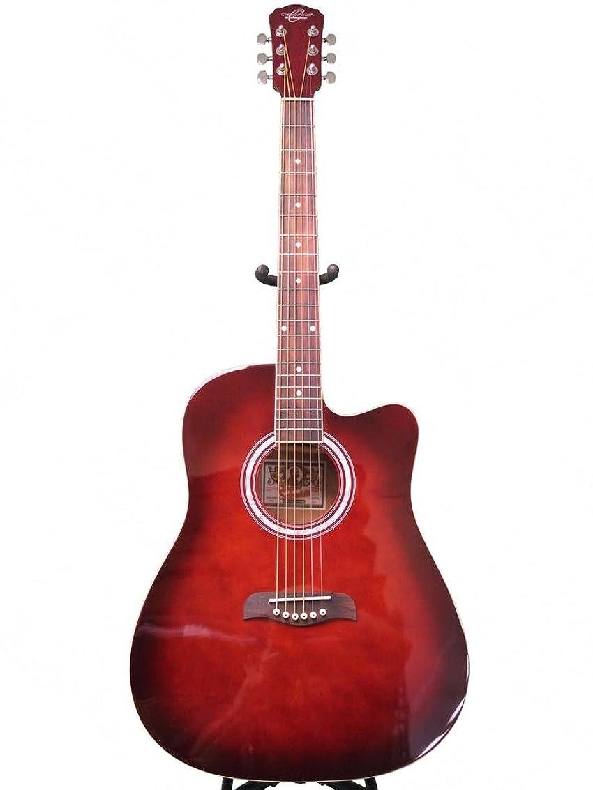 間違っているあえて適応Oscar Schmidt オスカーシュミット OD45CRDBPAK Linden Linden Dreadnought Pack w/bag アコースティックギター - Red Burst アコースティックギター アコギ ギター (並行輸入)