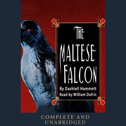 The Maltese Falcon audiobook cover art