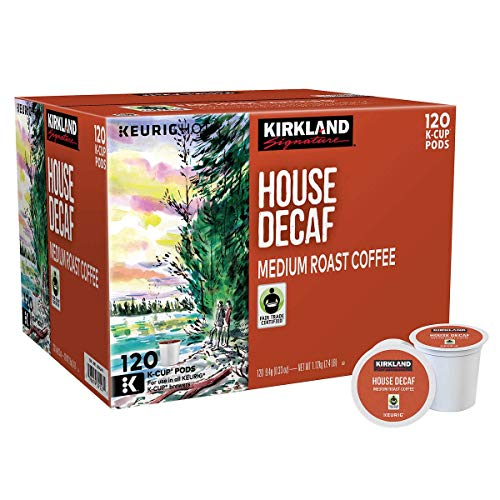 Kirkland Signature 1054232 House Decaf Coffee for 120 K-Cup Pods, medium
