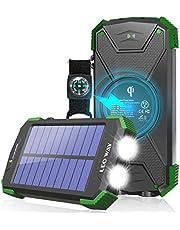 Solar Charger Solar Power Bank 10000mAh