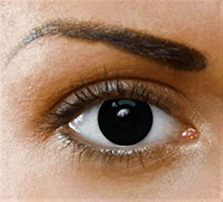 Amazon.es: Black Sclera Contact Lenses Full Eye