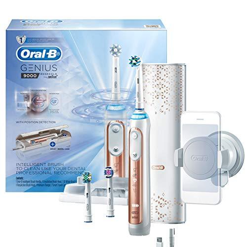 Oral-B Genius Series 9000 Electric Toothbrush, Rose Gold