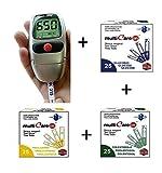 MULTICARE IN – Kit per la misurazione e l'autocontrollo di glicemia, colesterolo e...