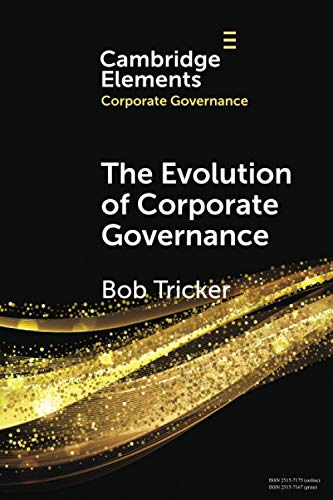 Compare Textbook Prices for The Evolution of Corporate Governance Elements in Corporate Governance  ISBN 9781108965422 by Tricker, Bob