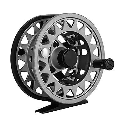 Dilwe Fly Fishing Reel Aluminium Alloy Fresh Saltwater Metal Spare Spools Die Casting Fly Reel Fishing Reel from Dilwe