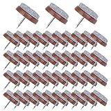 50 Stück Filzgleiter Nagel 24 Mm Parkettgleiter Möbelgleiter Stuhlgleiter Mit