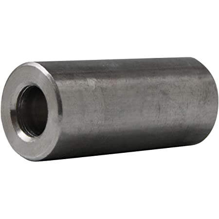 1//2 Length, 10 Aluminum Spacer 7//16 OD x 1//4 ID x Many Lengths Round by Metal Spacers Online