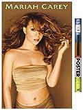 Trends International Mariah Carey-Gold Wandposter mit Clip,