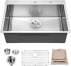 Best 33 x 22 single bowl stainless steel kitchen sink Reviews