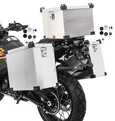 Alu Koffer 35-40L Topcase 38L für Aprilia RST 1000 Futura