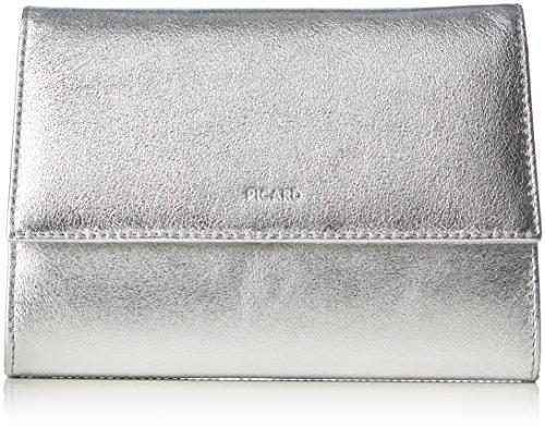 Picard Damen AUGURI Clutches, Silber (silber), 19x13x3 cm
