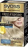 SYOSS Oleo Intense Permanente Öl-Coloration 12-0 Extra Platinum, mit pflegendem Öl & ohne...