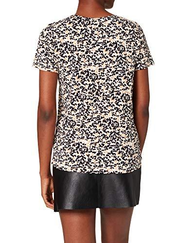 ICHI Damen IHLISA SS4 T-Shirt, 161334_Tan, XS