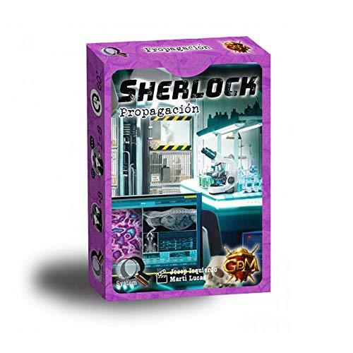 GDM Games Sherlock: Betalning färg lila GDM134