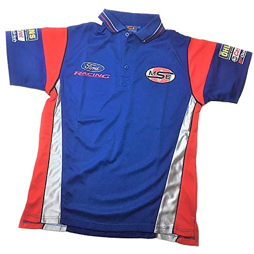 OMSE Ford Racing Rally X Cross Team Hombres Olsberg MF2793 Azul Poloshirt XS